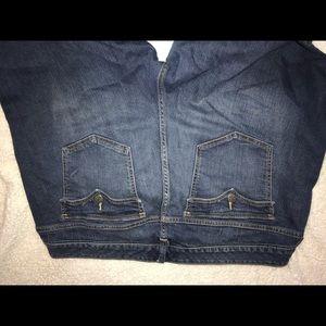 torrid Pants - Torrid capri jeans.